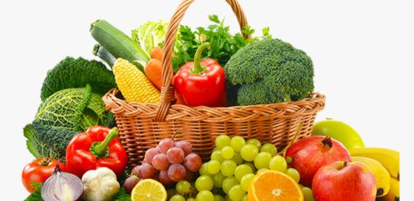 Sveže sadje in zelenjava